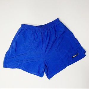 Speedo Swim Trunks Blue Large